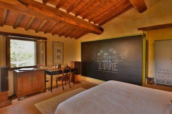 Fonte Cicerum Bedroom - Villa - Fontanaro Tuscany Umbria