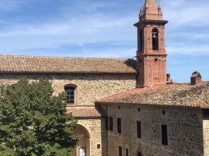 Paciano, piazza Santa Maria