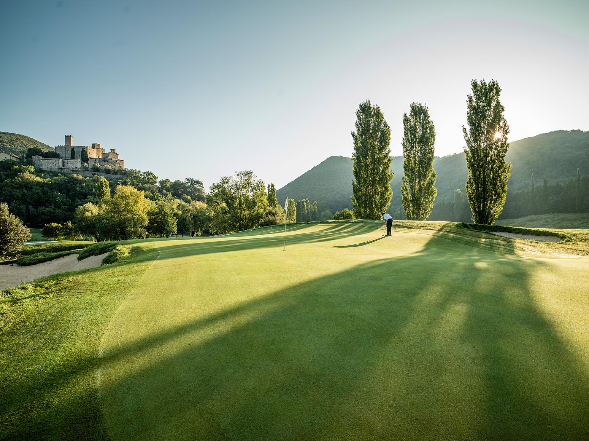 Fontanaro recommended golf club Antognolla