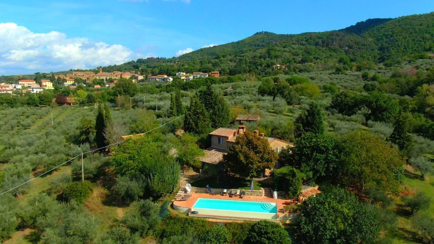 Fonte Cicerum Holiday Villas in Tuscany