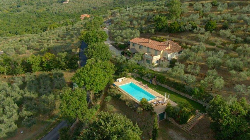 Fonte della Pace - Organic Farmhouse Villa in Umbria Tuscany