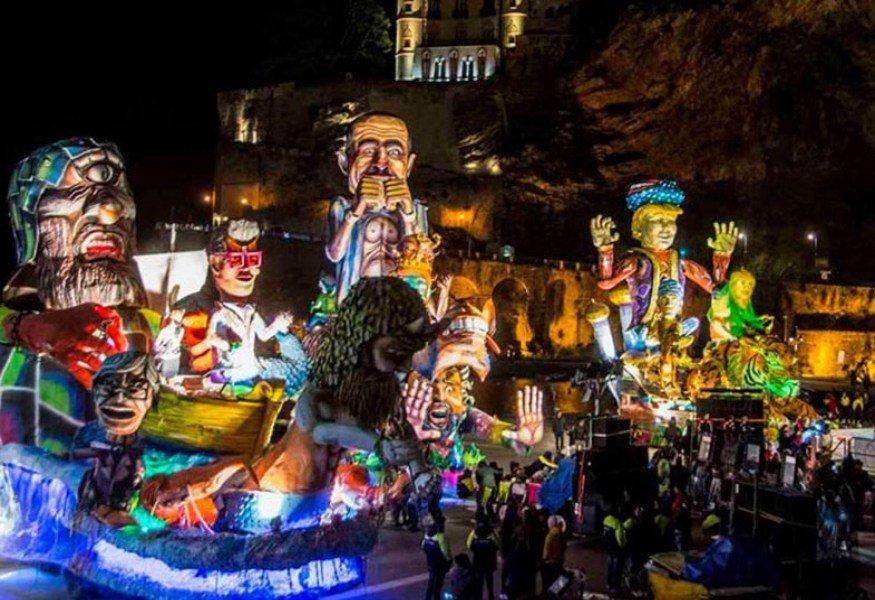 Carnival in Umbria near il Fontanaro