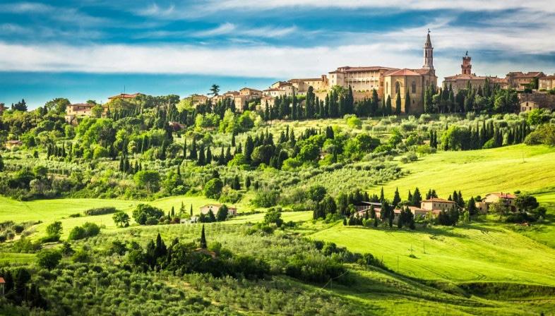 Villages in Tuscany near il Fontanaro