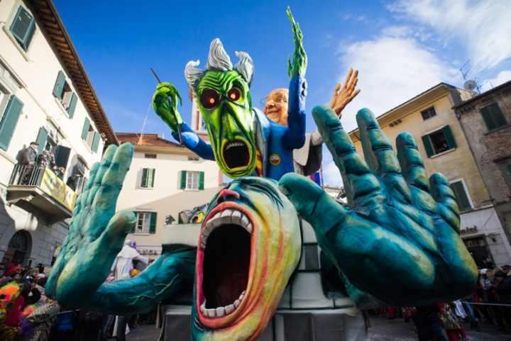 Foiano Carnival close to Il Fontanaro
